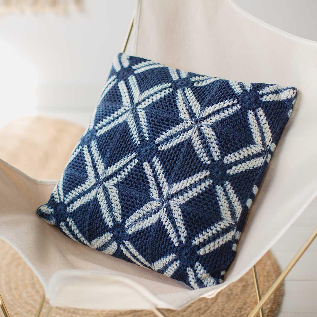 Shibori Pillow | Credit: Harper Point Photography