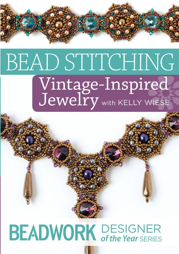 Join Kelly Wiese for a Vintage Inspired Jewelry workshop and work on your beadweaving resolutions at the same time.