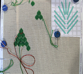 Christmas Trees - Needle Arts Studio