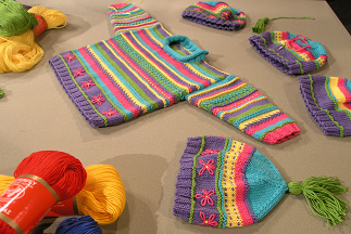 Embroidered Kids Knits - Needle Arts Studio