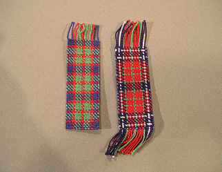 Plaid Bookmark - Needle Arts Studio