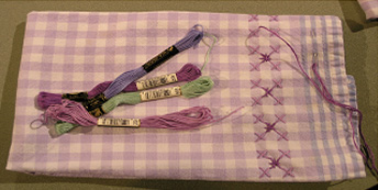 Towel Decoration - Needle Arts Studio