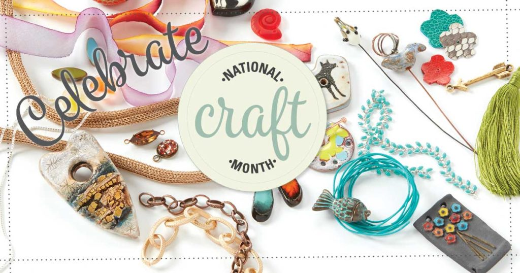 Bring National Craft Month into the Studio