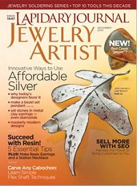 December 2010 Lapidary Journal Jewelry Artist