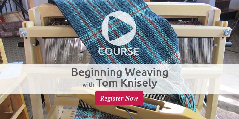 Beginning Weaving With Tom Knisely: Now Coming to a Mobile Device Near You