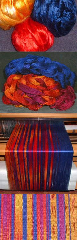 Learn about silk fiber properties at SpinnngDaily.com!
