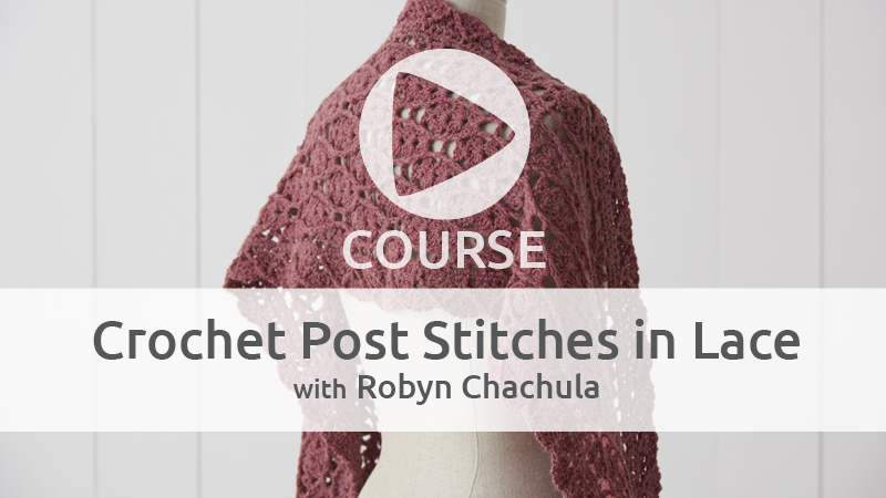 Get a Free Crochet Course for Christmas in July!