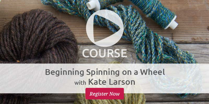 How a Knitter Learns to Spin (like wool, it's not hard)