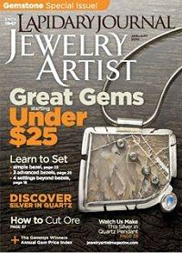 January 2010 Lapidary Journal Jewelry Artist