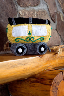 Train Car Knitting Pattern