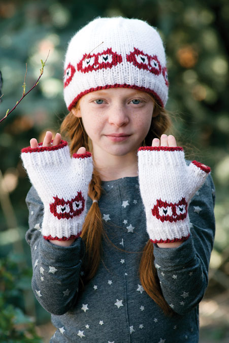 Hat and Mitts Knitting Patterns