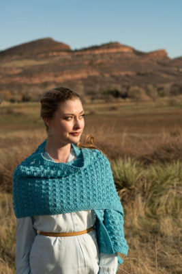 Clear Skies Wrap Knitting Pattern
