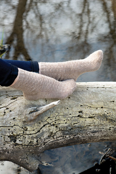 Crestwood Socks Knitting Pattern
