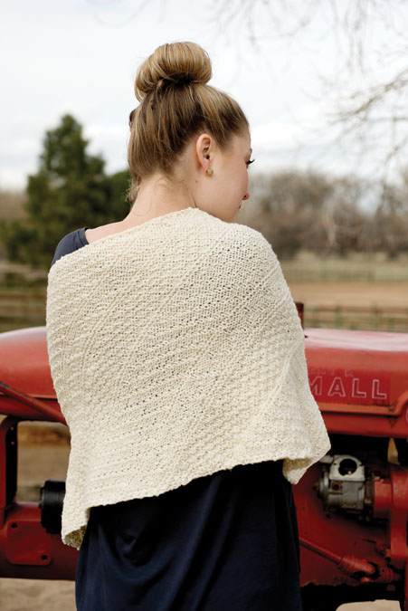 Parallelogram Wrap Knitting Pattern