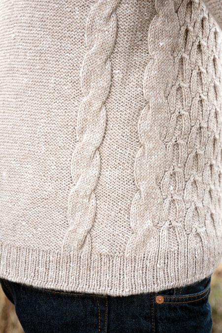 Wishbone Sweater Knitting Pattern