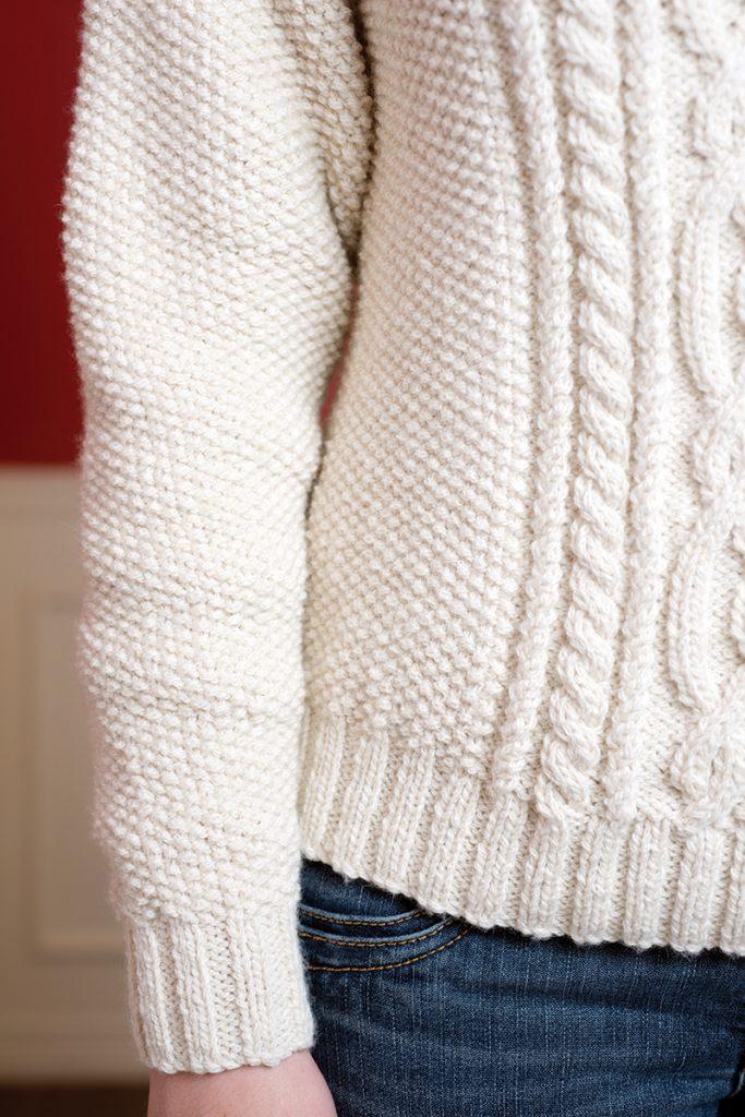 Winter Wonderland Aran Sweater - Interweave