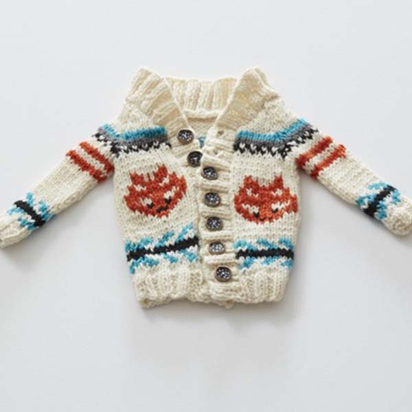 Knit This Cute Toddlers Cardigan For All The Kiddos In Your Life