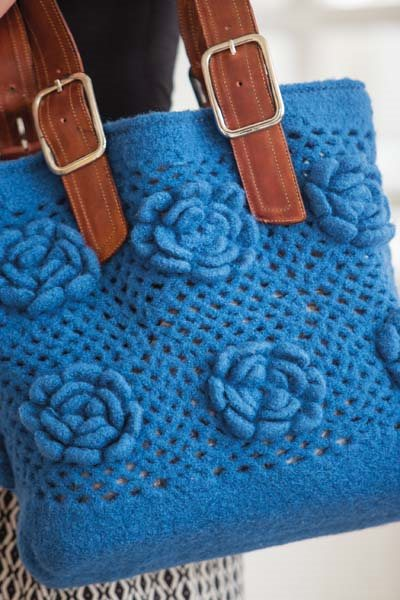 Crochet So Lovely: Felt Crochet Purse