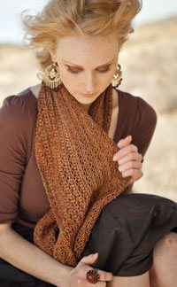 You'll love this moebius infitnity scarf pattern.