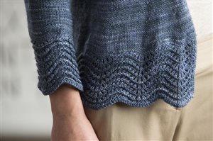 Jennifer Dassau Featherfall Cardigan knit.purl Spring/Summer 2015