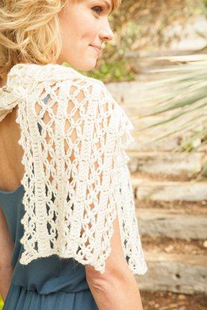 Crochet Lace Wrap