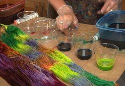hand painted yarn tutorial