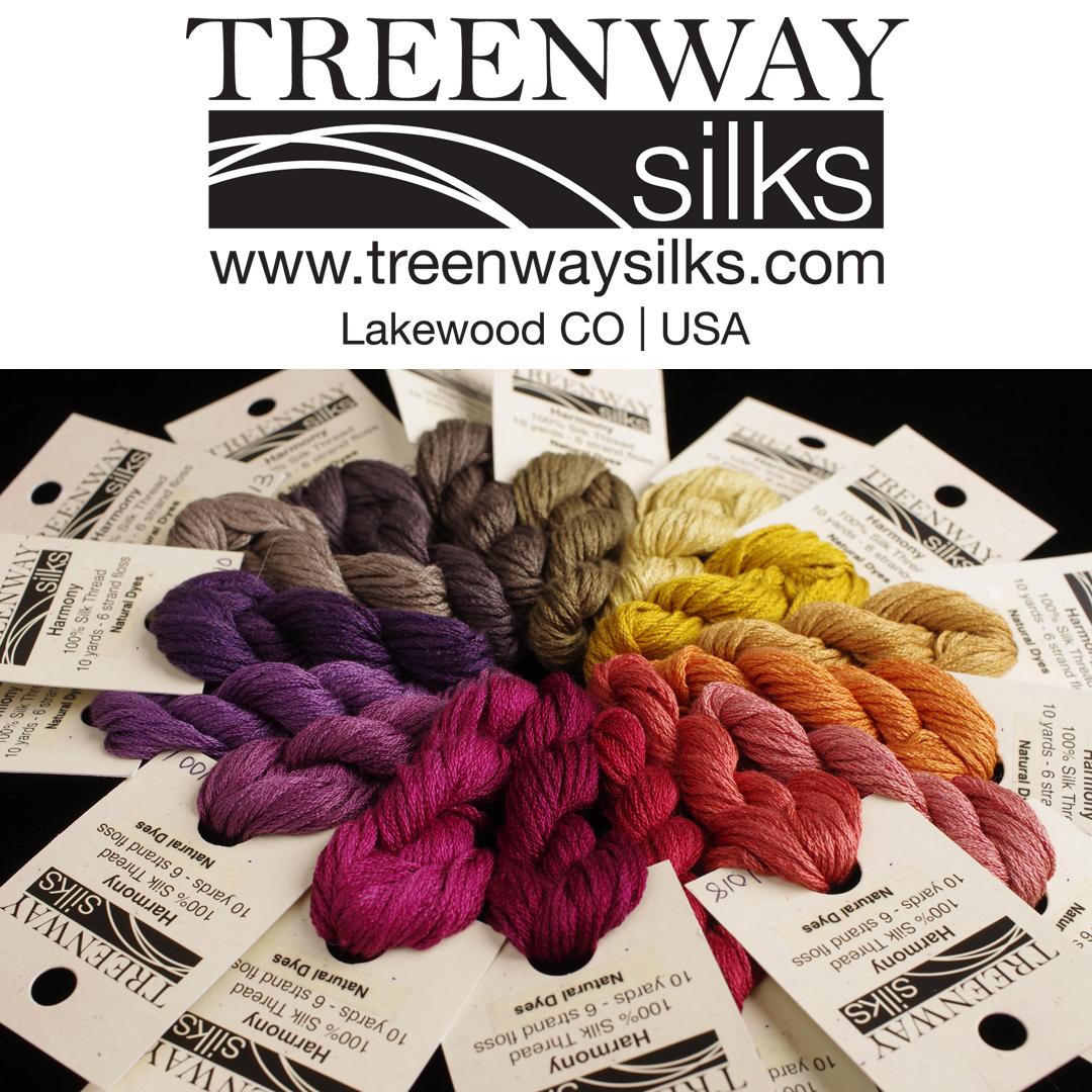 Harmony (6-strand silk floss) by Treenway Silks