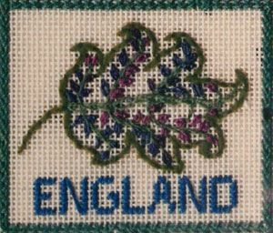 Around the World Sampler: England - Needle Arts Studio
