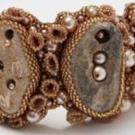 Advanced Bead Weaving Series: Seed Bead Embroidery with Unusually Shaped Focals by Kinga Nichols