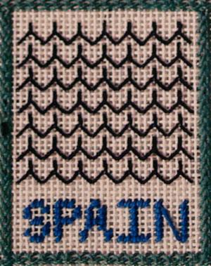 Around the World Sampler: Spain - Needle Arts Studio
