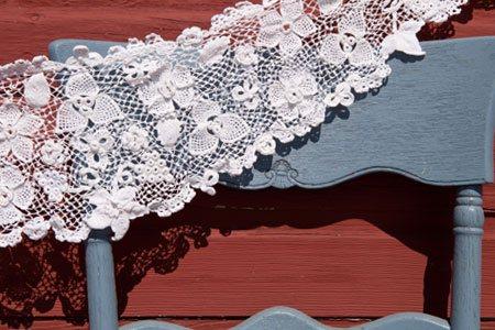 Irish Crochet Lace Shawl