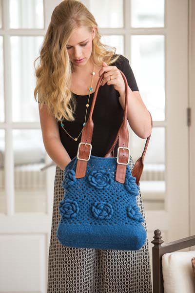 Crochet So Lovely: Felted Crochet Bag