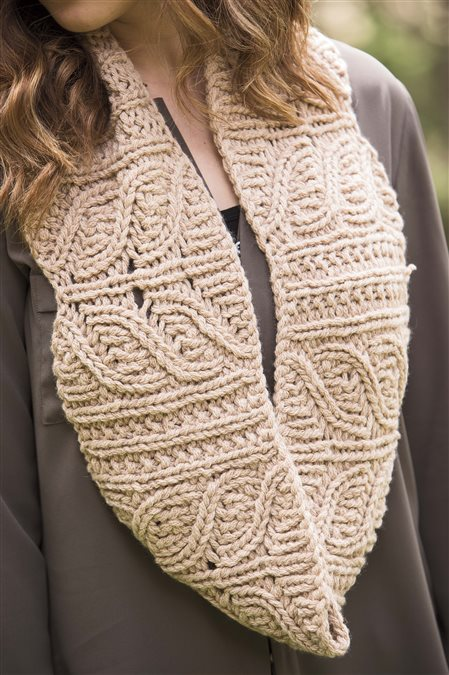 bear lake cowl knitted cowl pattern