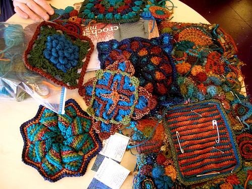 Bonnie Pierce's freeform crochet
