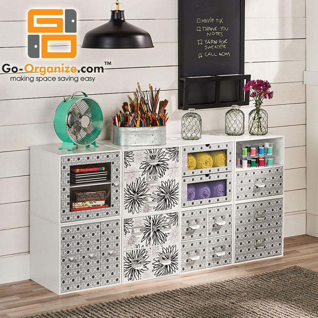 Go Organize Craft Storage Solutions for Knitters