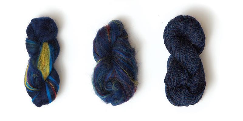 Jagger Spun from roving to yarn