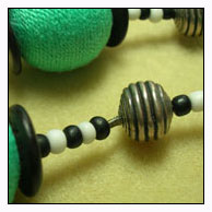 crimped bead necklace