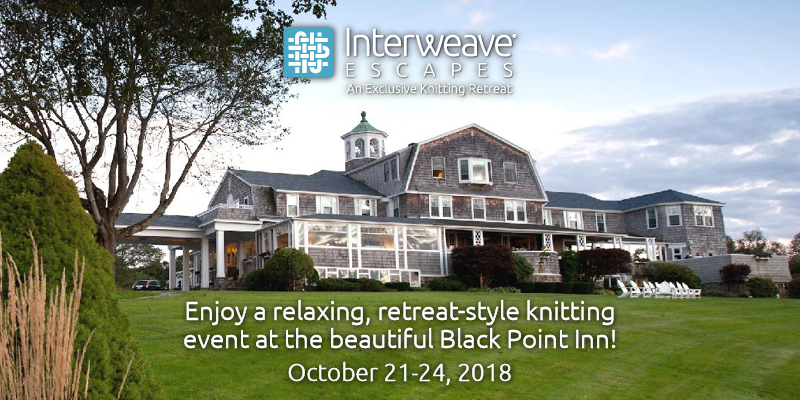 Join Interweave Escapes in Scarborough, Maine October 21 – 24, 2018 with Instructors Mary Jane Mucklestone & Beatrice Perron Dahlen