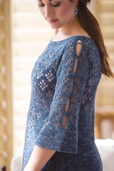 Crochet So Lovely: Crocheted Pullover