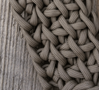 Crocheting with Paracord