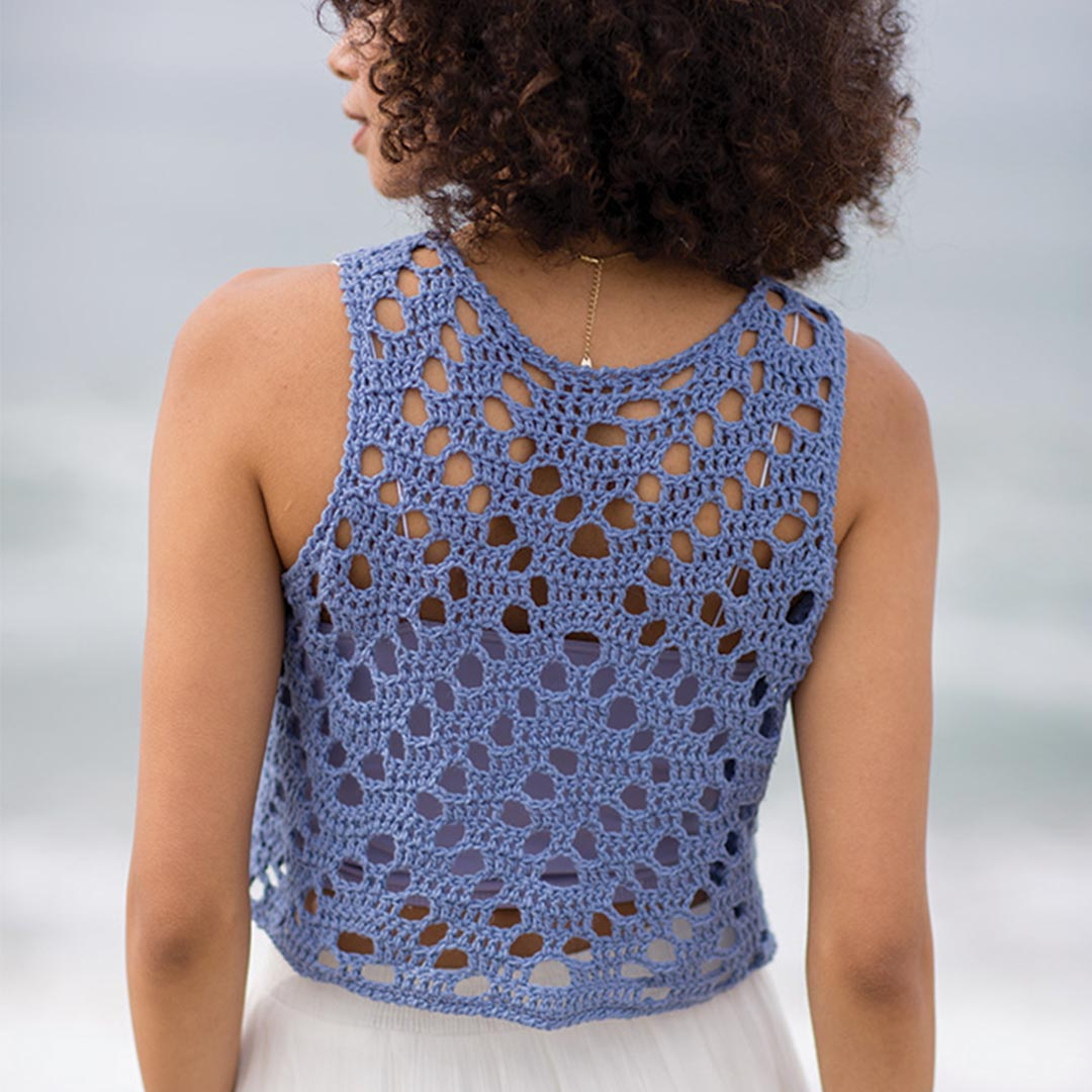 Spiral Seashell Top | Credit: Harper Point Photography