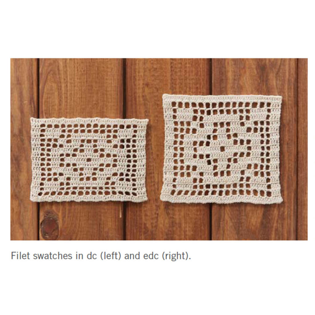 the ins and outs of filet crochet