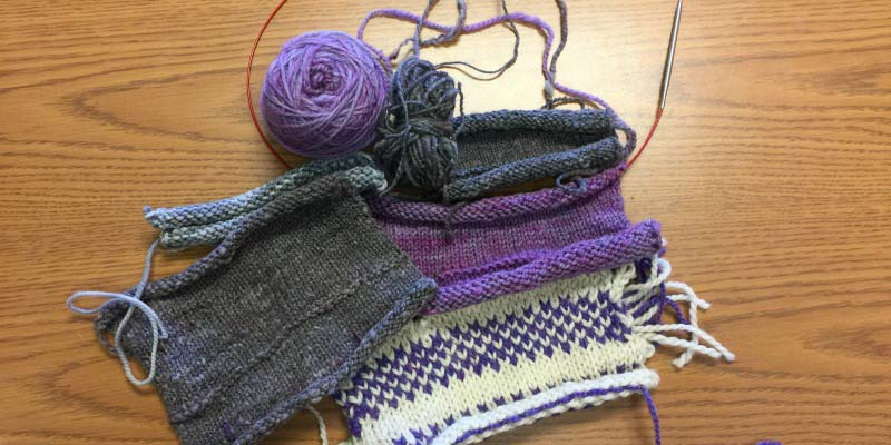 How to Knit a Swatch, Part 1: Swatching Smarter