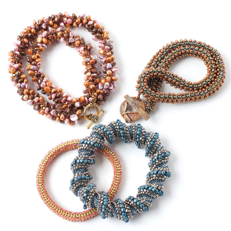 Bead Weaving: How to Weave a Beaded Spiral Rope and More, with Jill Wiseman
