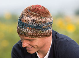 Make this amazing crochet hat in our exclusive eBook on crochet for charity patterns.