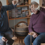 Roving Reporter: Finishing A Sweater Knitted With Handspun Yarn