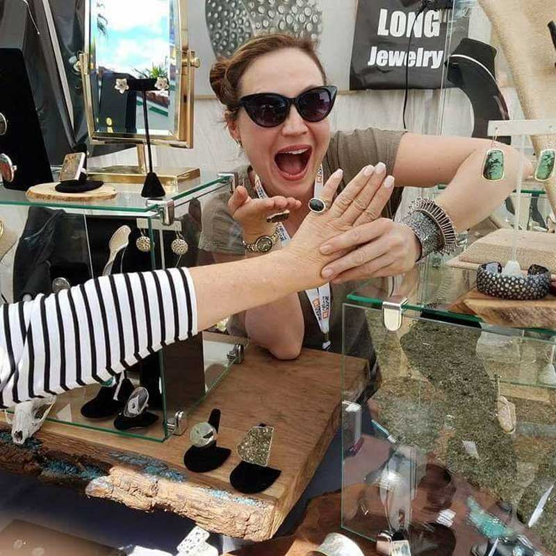 Studio Notes: Show Girl and Jewelry Designer Hannah Long Thrives on the Road