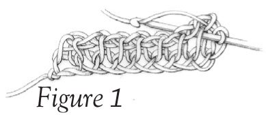Tunisian Knit Stitch (tks) - Figure 1