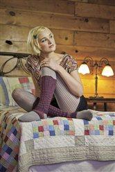 Tilly Toeless Socks Izumi Ouchi Knitscene Spring 2012