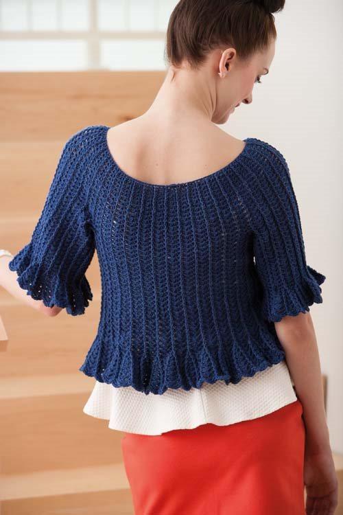 Blueprint Crochet Sweaters: Crochet Top